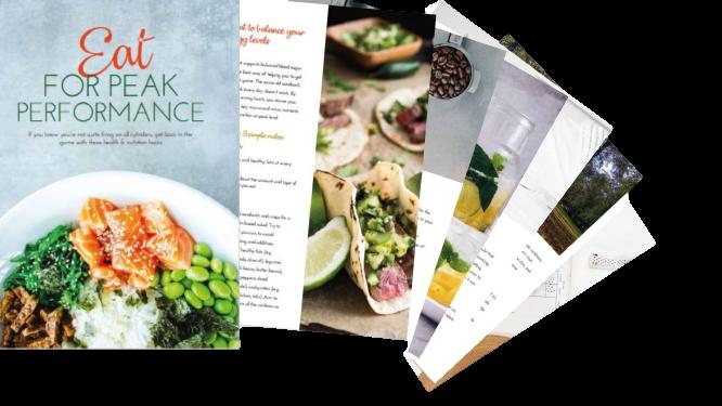 Eat for peak performance ebook